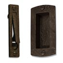 Coastal Bronze Pocket Door Hardware